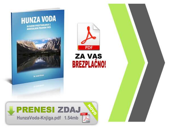 Brošura Hunza Voda